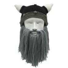 Vikings Knitwear UNISEX Beanie Beard Hat