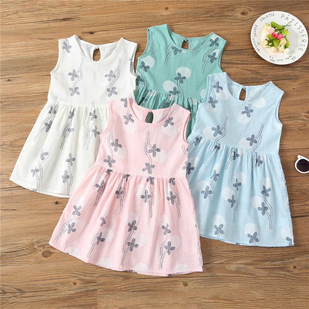48b680367a3 От 2 до 8 лет платье для маленьких девочек Летнее белое платье принцессы детская  одежда для