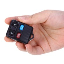 C32 Car Remote Key Holder Case Shell 4-button Protecting Cover for Ford Easy to Install Protect Buttons From Excessive Wear