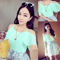 Sexy Spring Summer Casual Shirts Tank Tops Sleeveless Spaghetti Strap Chiffon Women Blouses Shirts for Gifts