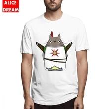 Totoro Praise The Sun Tees Dark Souls 3 Church of the New T Shirt Crewneck Free Shipping 100% Cotton t shirt
