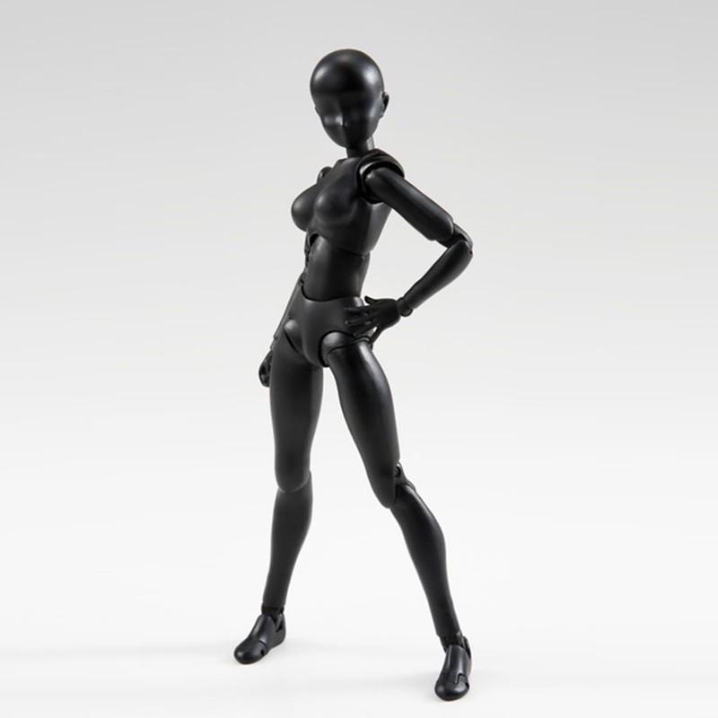 6 Types 2 Colors SHFiguarts Body Chan Body Kun Black Skin Color Ver PVC Action Figure Collectible Model Toy (3)