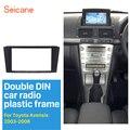 Seicane 2Din автомобильный Радио Рамка комплект для 2003 2004 2005 2006 2007 2008 Toyota Avensis DVD стерео плеер Лицевая панель адаптируется
