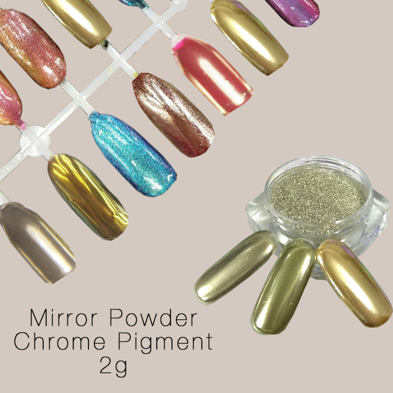 2g Mirror Powder Pigment Powder Aluminium Powder Chrome