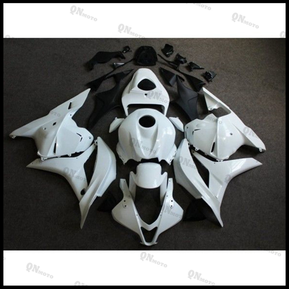 Motorcycle ABS Unpainted White Fairing Kit For Honda CBR600RR CBR600 RR CBR 600RR F5 2009 2010 2011 2012  + 3 Gift arashi motorcycle radiator grille protective cover grill guard protector for 2008 2009 2010 2011 honda cbr1000rr cbr 1000 rr