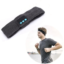 Headband for Bluetooth Built-in Wireless Speakers Knitted Washable Detachable Handsfree Headphones Yoga Running Headwear Unisex