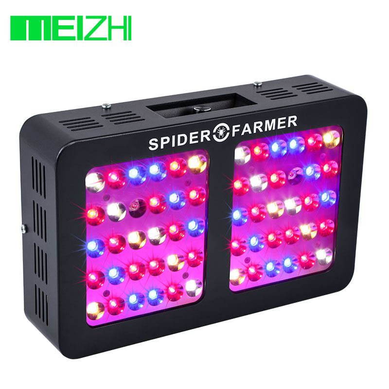 MEIZHI Aranha Agricultor Pode Ser Escurecido LED 600/1000/1200 W Crescer Espectro Completo de Luz sistema Hidropônico planta de jardim interior que cresce a luz