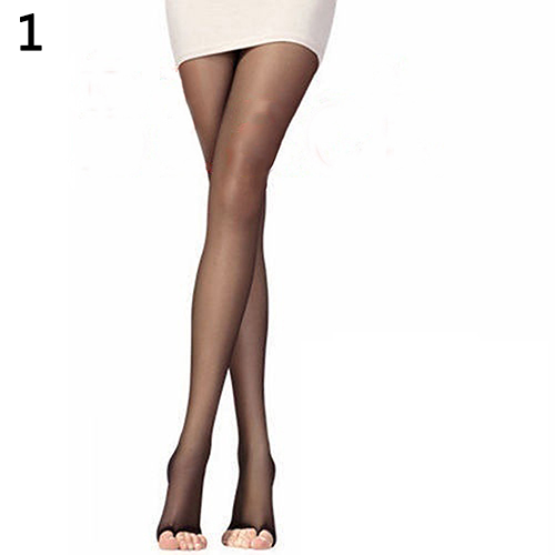 New Arrival Women Fashion Open Toe Sexy Sheer One Size Ultra-Thin Slim Stretch Pantyhose