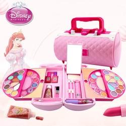 Disney Pretend Play Beauty  Fashion Toys Children's Cosmetics Princess Makeup Set Girl Toys Portable Makeup Bag Birthday Gift