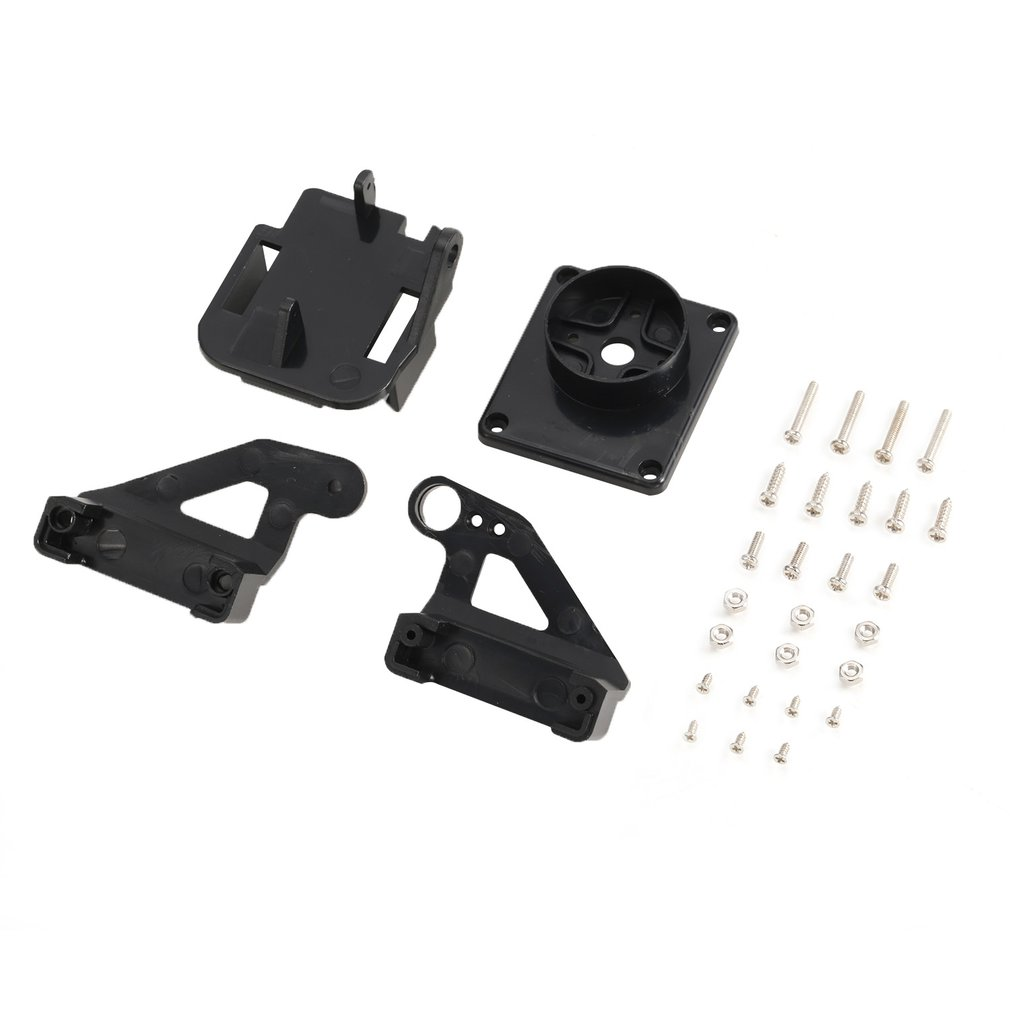 1set/lot PT Pan/Tilt Micro Two Axis Steering Gear Platform for Aircraft FPV Camera Dedicated Nylon PTZ for 9G Servos SG90