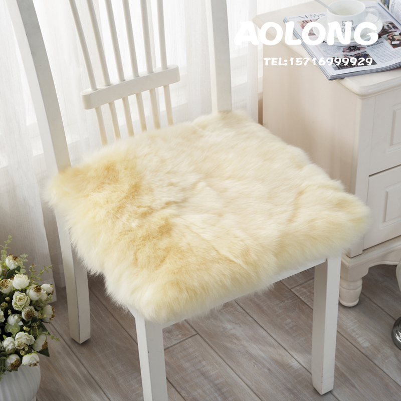 Wool Seat Cushion Dining Table Cushion Plate Stool