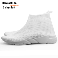 Trendy High Elastic Material Women Men Shoes Outdoor Jogging Walking Sneakers Hommes Mujer Shoes Comfotable Soft