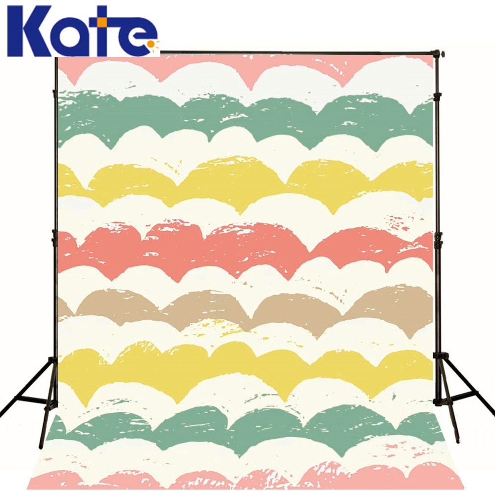 Kate Digital Printing Backdrop Cartoon Images Colorful Horizontal Wavy Stripes Photography Background For Children Yy00364 digital images forgery detection techniques page 11