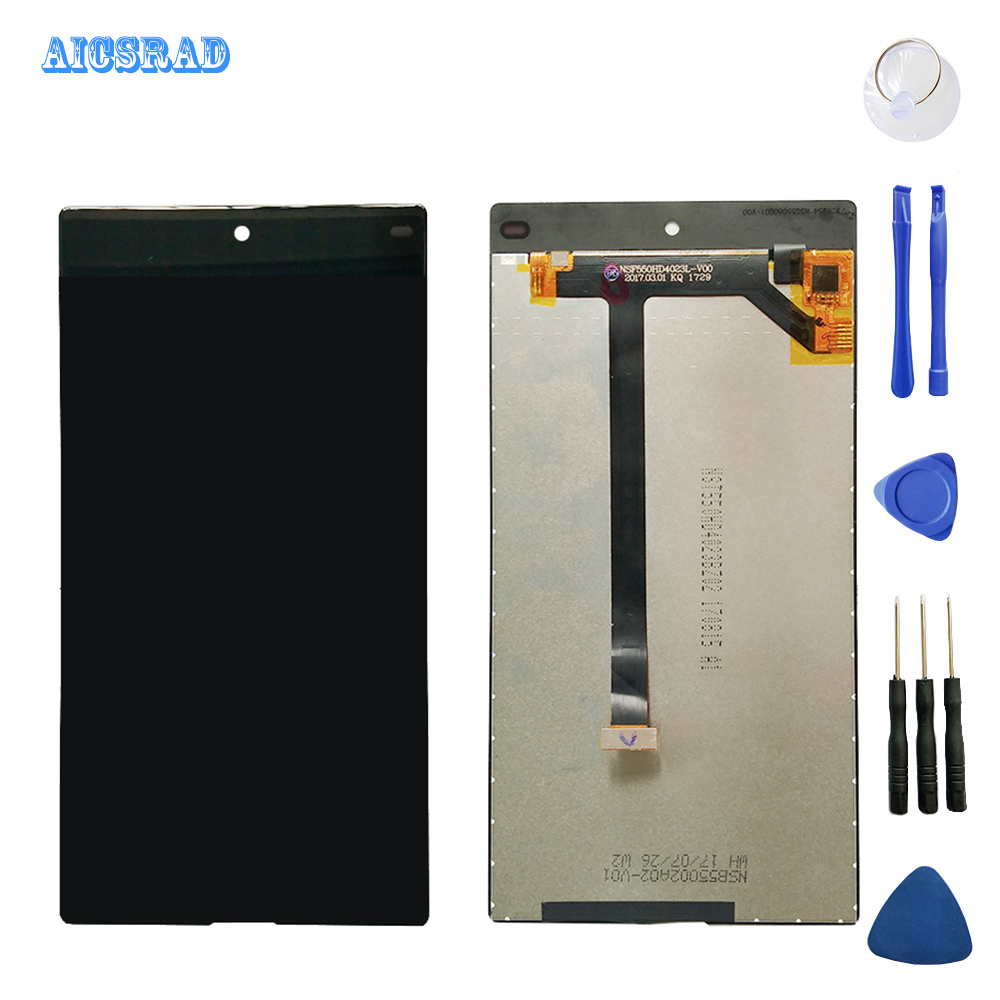 AICSRAD For VKworld Mix Plus LCD Display Touch Screen Tools Digitizer Assembly Replacement Accessories mixplus tools