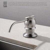 HPB Brushed Kitchen Soap Dispensers Deck Mounted Soap Dispensers For Kitchen Replacement Accessories Dispensador De Jabon