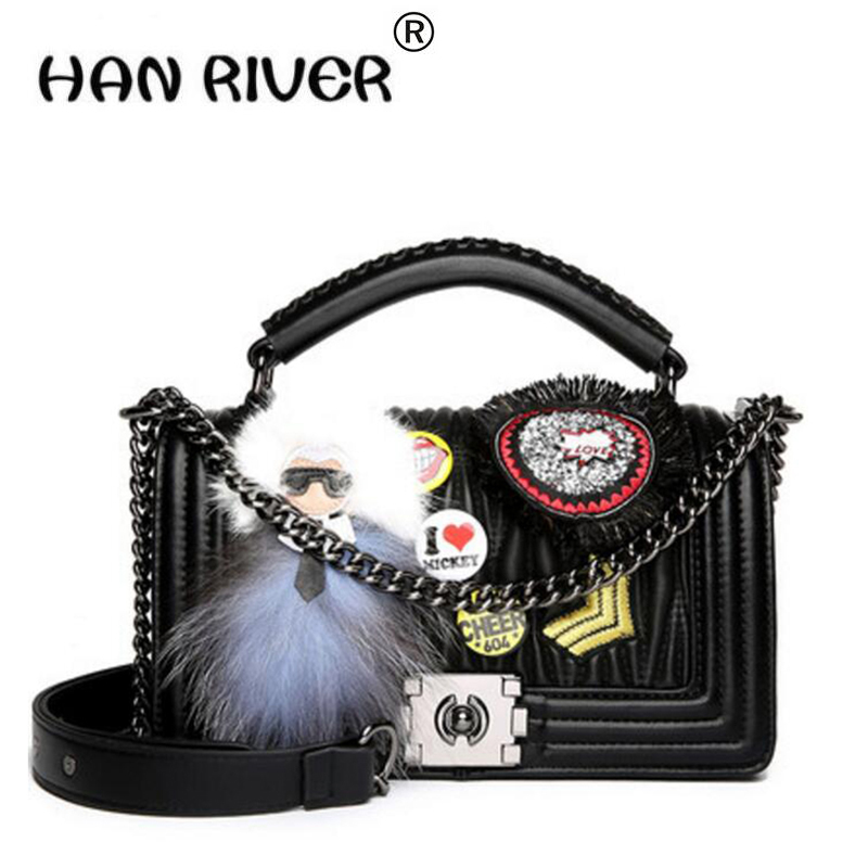 HANRIVER PU Leather Purse Crossbody Shoulder Women Bag Clutch Female Handbags new chain pack fashion casual small square bag yuanyu 2018 new hot free shipping real python leather women clutch women hand caught bag women bag long snake women day clutches
