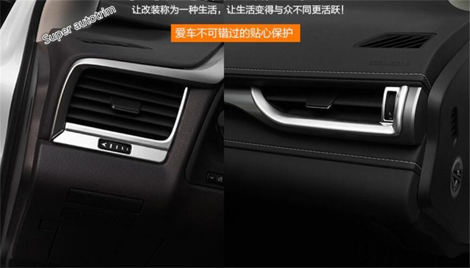 Lapetus Dashboard Acondicionador de aire AC Vent Outlet Cover Trim 7 - Accesorios de interior de coche - foto 6