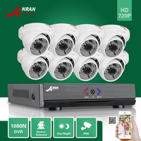 ANRAN 1800TVL Outdoor CCTV Security Camera System 8CH 1080N HD DVR Surveillance System