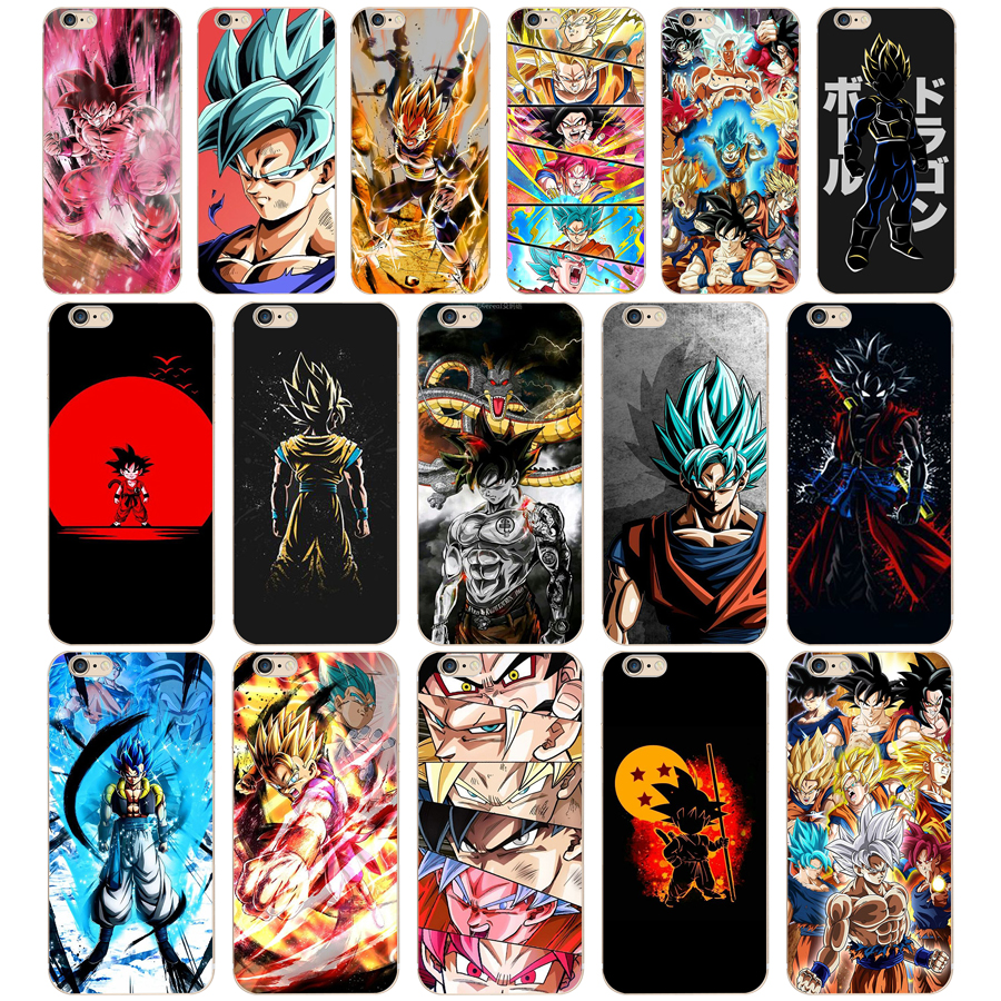 48 ZX Dragon Ball Z Super DBZ Goku Mode Weiche Silikon Phone <font><b>Cases</b></font> Abdeckung für <font><b>Iphone</b></font> 7 6 6 S 8 Plus 5 S SE Coque Fundas image