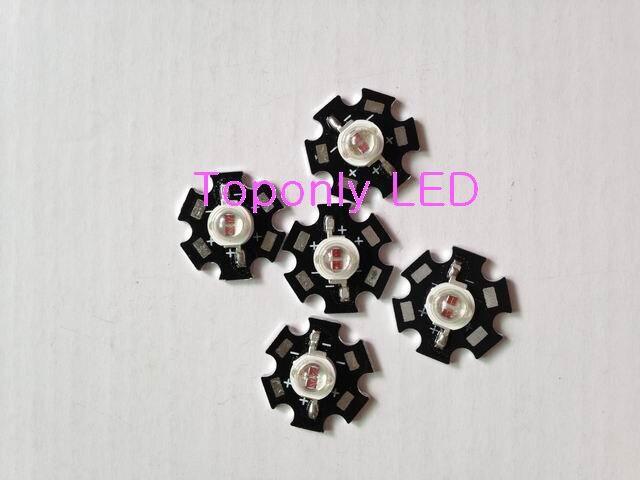 ツ)_/¯5w Epileds chips high power led grow light beads 650-660nm red ...