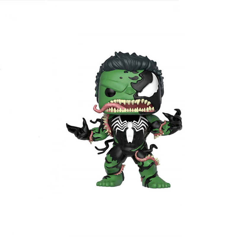 Marvel Avenger Endgame 10cm Hulk Venom Capital America Iron Man Action Figure Toy Dolls Toys B406 in Action Toy Figures from Toys Hobbies