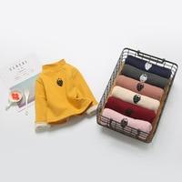 طفلة ملابس الشتاء سميكة البلوز القمم الدافئة المخملية الرضع قاع الاطفال الفراولة تي شيرت بلوزة الملابس ل 0-2 سنوات