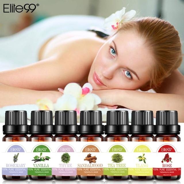 Elite99 10ml Lavendel Ätherische Öle Massage Öl Bade Hautpflege Tee Baum Öl Für Aromatherapie Diffusoren Natürliche Ätherisches Öl