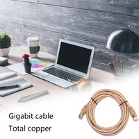 Practical Durable CAT7 U/FTP Gold Plated Shielded Ethernet RJ45 Network Patch Cable Cord High Performance