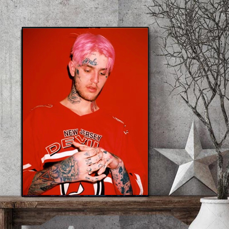 Did Lil Peep Die Wall Art Canvas Posters And Prints Canvas Painting Decorative Oil Picture For Bedroom Home Decoration Artwork