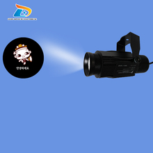 Latest Big Promotion Outdoor Advertising Gobo Projector Waterproof Aluminum Alloy 20W Company Logo Signs LED Gobo Logo Projector