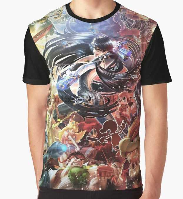a1b631afa Detail Feedback Questions about All Over Print T Shirt Men Funy tshirt  Bayonetta Smash bros Promo Art Short Sleeve O Neck Tops Tee women t shirt  on ...