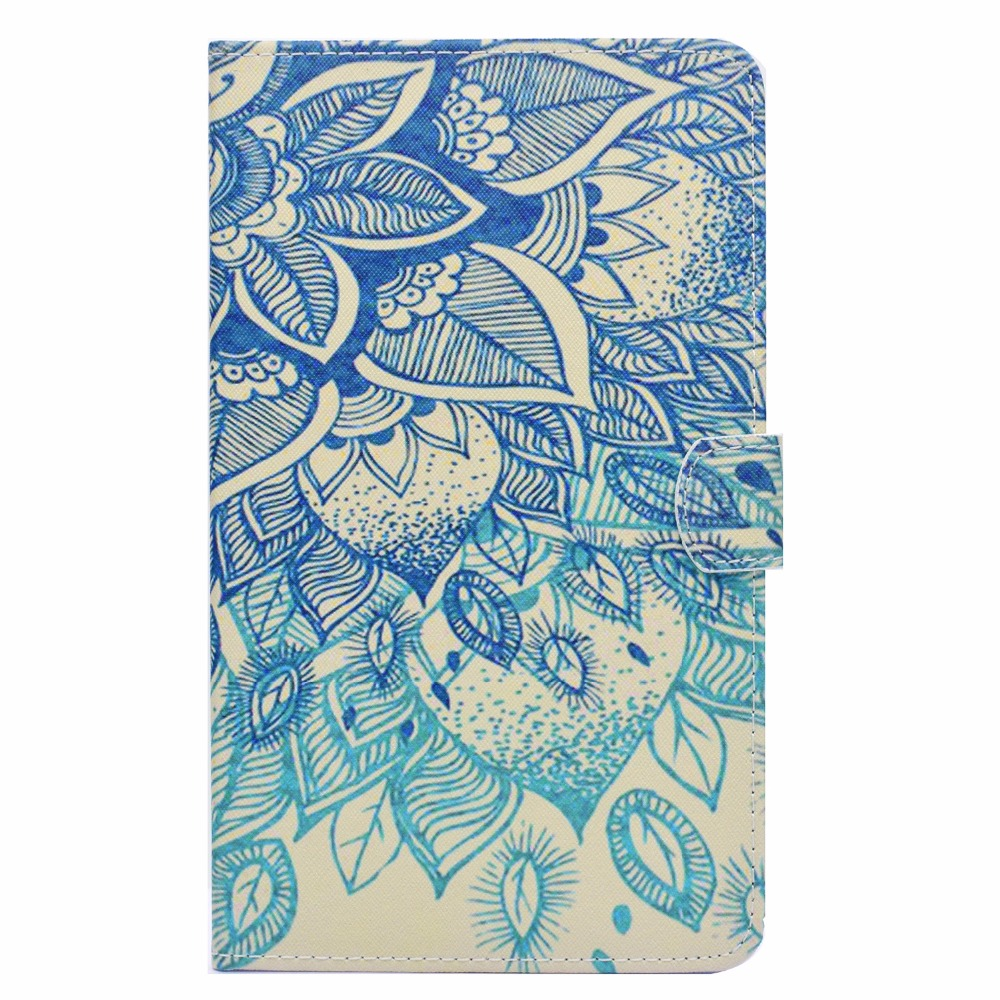 For Samsung Galaxy Tab A A6 7.0 SM-T280 Case, Printing Smart Cover Case For Samsung Tab A 7 T285 T280 funda Sleep/Wake Cases