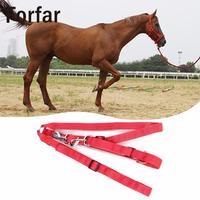 Fofar דו צדדי חיצוני LED זוהר איסור פרסום ריין Briddle לרתום עקבות חיצוני רכיבה על סוסים אספקת כלי