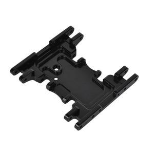 Image 4 - Aluminium Legierung Skid Platten getriebe box untere befestigung für Axial SCX10 II 90037 90046 90047 90058 AX31379