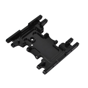 Image 4 - Aluminum Alloy Skid Plates gear box bottom mount for Axial SCX10 II 90037 90046 90047 90058 AX31379