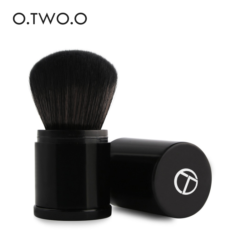O.TWO.O New High Quality Retractable Makeup Brushes Foundation Powder loose powder blush makeup brush