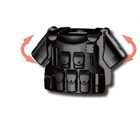 Pauldrons Heavy Body Armor Weapons Original Toy Swat Police Military Weapons Accessories  Compatible