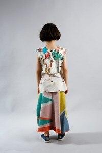 Image 4 - 2020 קיץ תינוקת בגדי בנות זאב & ריטה ילדים בגדי סטי מכנסיים + חולצות חולצות 2 pcs בנות בגדים חצאיות עבור בנות