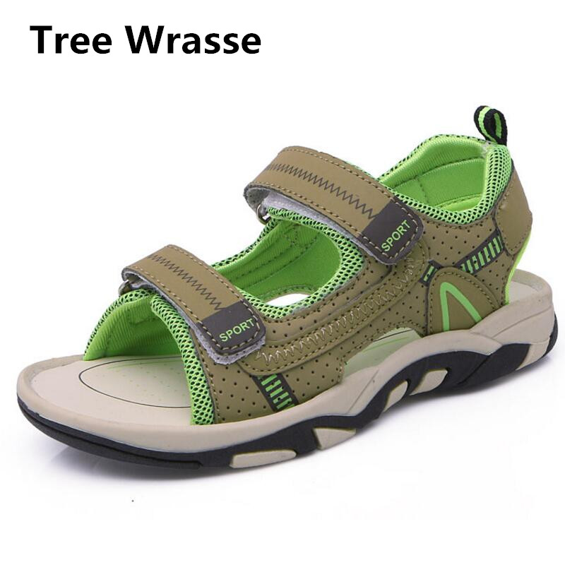 Children Beach Sandals 2017 Summer New Anti-skid Children Sport Sandals Kids Sneakers For Boys Girls Breathable Casual Shoes