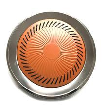 Бездымная печь верхняя Сковорода-гриль для барбекю из нержавеющей стали Тип карты Антипригарная посуда для варки круглая форма для внутренней кухни