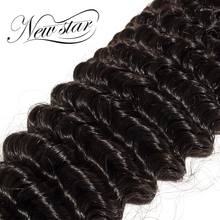 NEW STAR 10″-34″ Deep Curl Brazilian Virgin Human Hair Extension Curly Weave Cuticle Aligned Double Weft Bundles Salon Supply