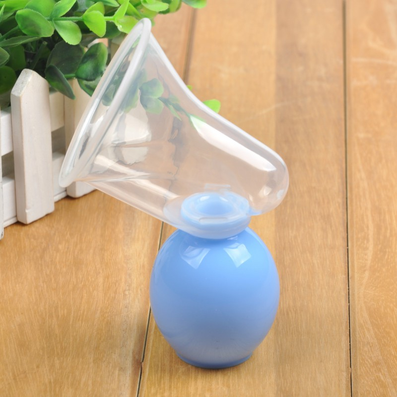Baby Feeding Manual Breast Pump with Milk Bottle for Powerful Suction Made with BPA Free PP Silicon 20
