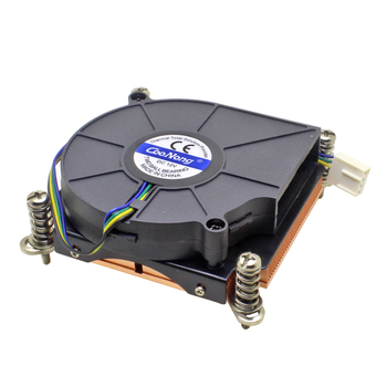 (Special Offer) Server CPU Cooler Cooling Fan Copper Heatsink For Intel LGA 1155 1156 1150 1151 Industrial Computer Cooling image