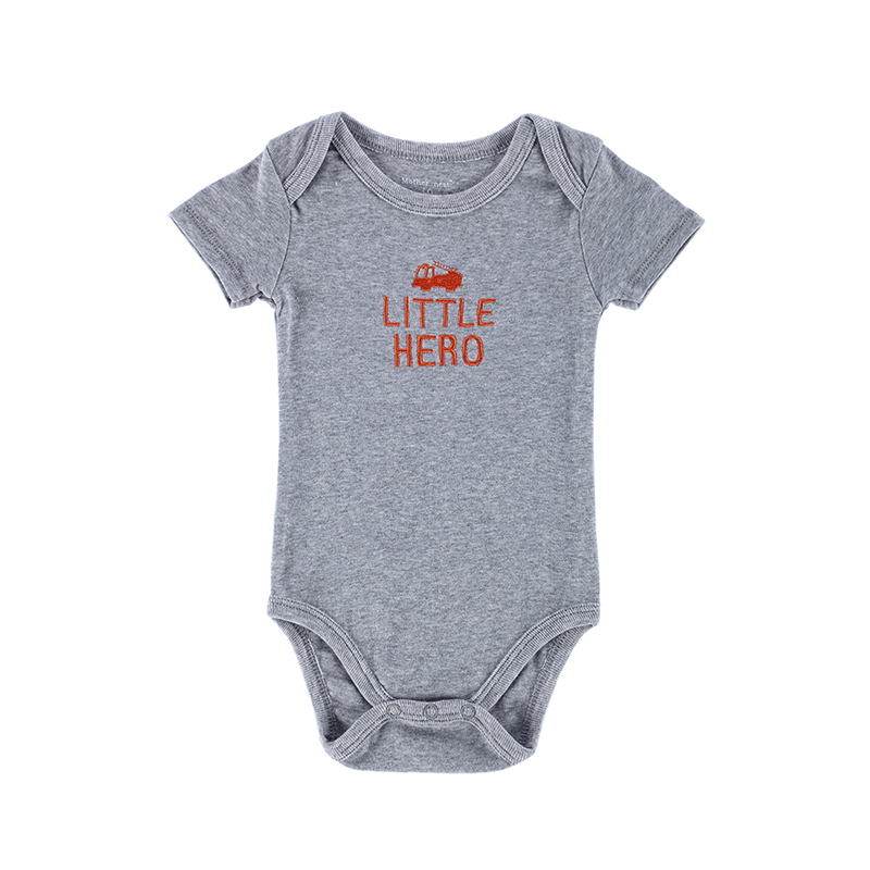 Mother Nest 3 pcs/lot Fantasia Cotton Baby Bodysuit Infant Jumpsuit Short Sleeve Body Suit Baby Clothing Set