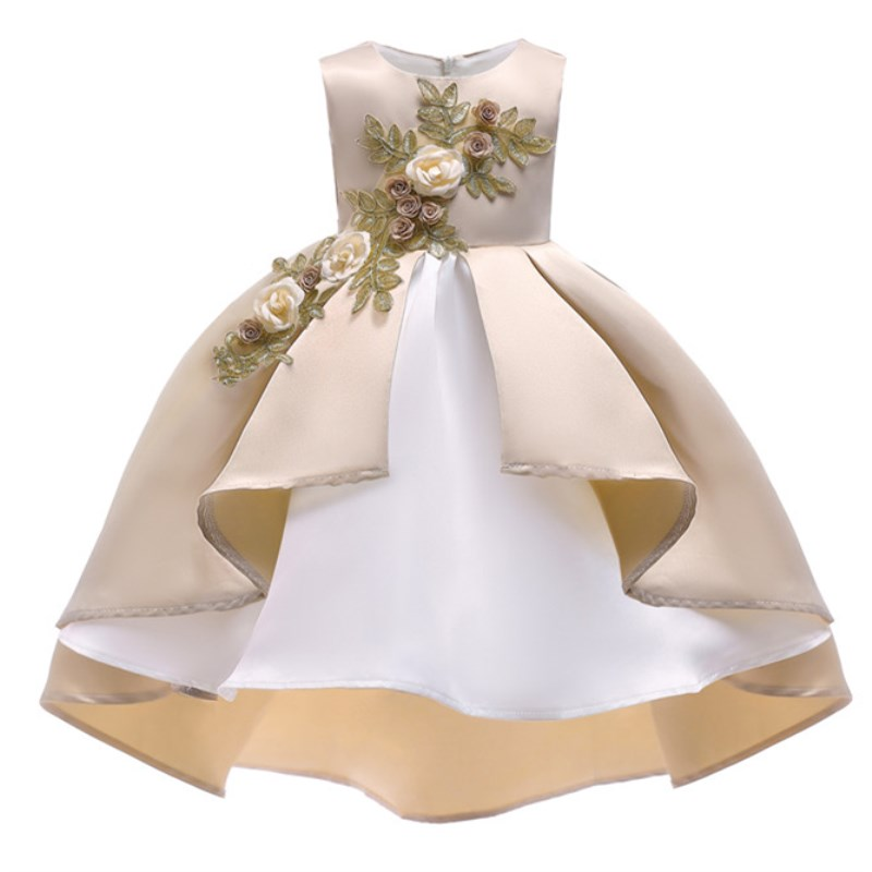 Summer Christmas Flower Girls Dress Girl Clothing Sleeveless Princess Dresses Girl Costume Kids Clothes girl teenager party dress flower princess dress girl clothing for girls clothes dresses spring summer custumes