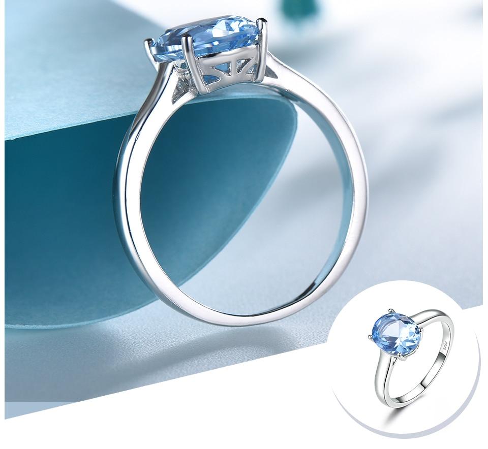 UMCHO ?Nano Sky Blue Topaz 925 sterling silver ring for women RUJ09B-1-pc (4)