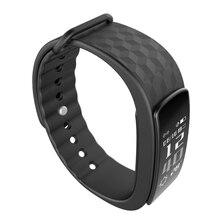 Умный Браслет Фитнес-Трекер Смарт Браслеты Heart Rate Monitor 0.96 »OLED Беспроводная Bluetooth 4.0 Смарт Браслет Группа Ремешок