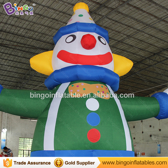 5m Big Inflatable Clown Balloon Cartoon For Advertising/events Inflatable  Toy