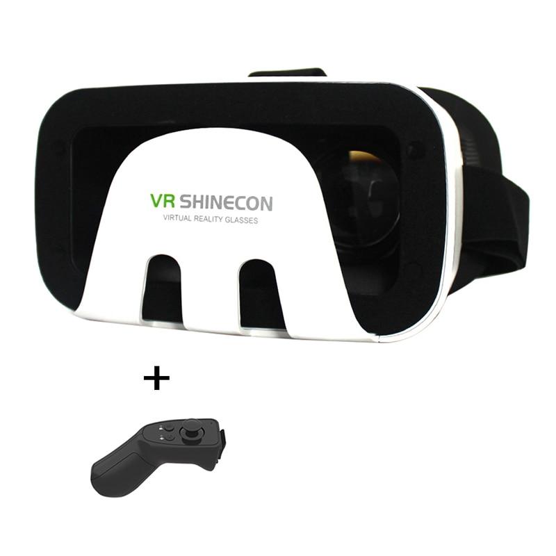 Shinecon III 3.0 Google Virtual Reality 3D <font><b>Glasses</b></font> <font><b>VR</b></font> Helmet BOX <font><b>Game</b></font> <font><b>Video</b></font> <font><b>Headset</b></font> For 4.7-6'' Phone + <font><b>Smart</b></font> Bluetooth Remote