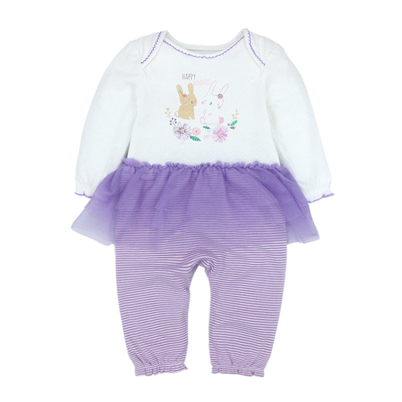 Tender Babies Baby Girls clothing cute rabbit all in one with tutu skirt in Rompers from Mother Kids
